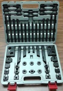 Bridgeport Mill Mach T slot Clamping Kit Bridgeport Mill Set Up Set 1 2 13 58