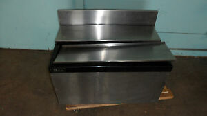Heavy Duty Com perlick Under Counter 100 Ss Insulated Cold Plate Ice Bin