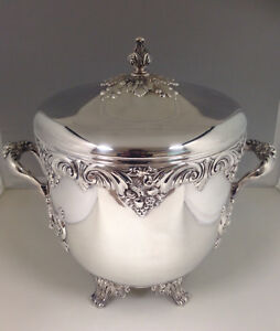 Vintage Reed Barton Silver King Francis Champagne Ice Bucket Horse Trophy Cup
