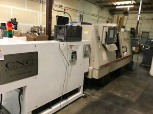 1997 Falcon 200 Cnc Lathe With Barfeed Lower Price