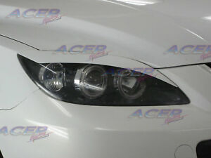 venom Lids Fits Mazda 04 09 Mazda3 Speed 3 Hatchback Eyelids Eyebrow Headlight