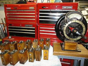 Ford Model T Coil Reconditioned And Adjusted On Orig Hand Cranked Magneto Tester