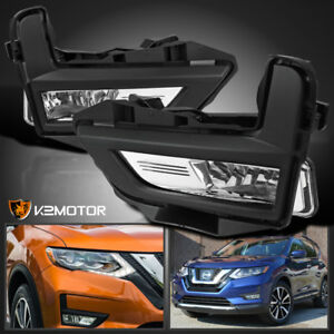 For 2017 2018 Nissan Rogue Replacement Driving Lamps Bumper Fog Lights switch
