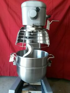 Hobart 30 Qt Mixer W Timer Safety Cage Bowl Guard 3 4 Hp Model D300t 3 Phs