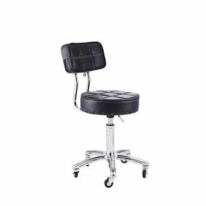 Swivel Seat Stool Bench Mechanics Work Shop Chair Rolling Drafting Adjustable