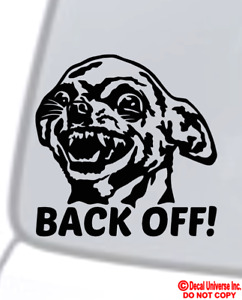 Chihuahua Back Off Vinyl Decal Sticker Car Window Bumper Get Funny Dog My Ass