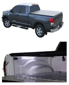 Truxedo Truxport Roll up Tonneau Soft Cover Access Aa Battery Light For Tacoma