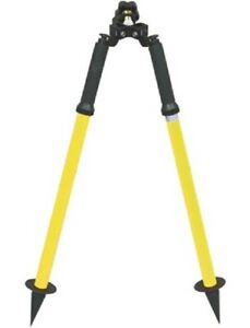 Geomax Aluminum Mini Prism Pole Bipod For Survey Stakeout Total Station