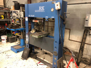 Rk Hydraulic 50 ton H frame Press