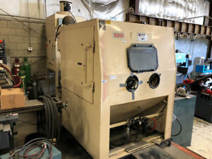Empire Pro finish 6060 Sand Blasting Cabinet With Dust Collection System