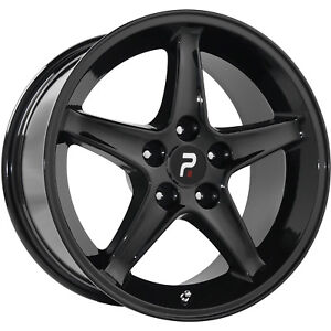 17x9 Black Wheel Oe Performance 102 1995 Mustang Cobra R 5x4 5