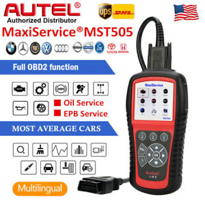 Autel Mst505 Obd2 Diagnostic Scanner Tool Ars Oil Service As Ml619 Vag505 Md802