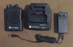 Motorola Minitor V Pager Fire Ems On 151 22 With Battery Charger