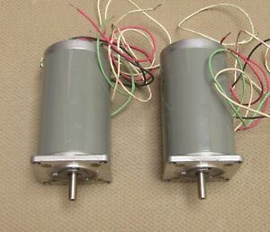 New 2x Sanyo Step Syn 103 746 1 Stepping Motor 3 4v 2 9a 1 8 Deg Made In Japan