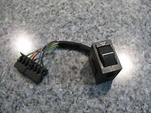 Genuine Porsche 924 944 S 951 Stereo Radio Front To Rear Fader Control Switch