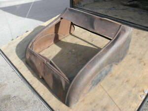 1926 1927 Model T Ford Roadster Turtle Deck Trunk Lid Not 4 Coupe Street Rat Rod
