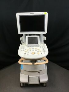 2011 Philips Iu22 g cart Ultrasound Machine No Probes Used Works Fine