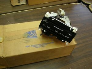 Nos Oem Ford 1971 1972 1973 Galaxie 500 Ltd Heater Control Assembly