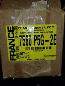 Neon Franceformer 7560 P5g 2e 277v Primary 7500 Volt Secondary With Ground Fault