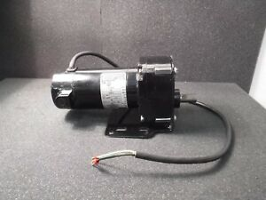 Bodine Electric 24a4bepm d3 Gear Motor 130 Vdc 30 1 Ratio 1 17 Hp 83rpm At Shaft