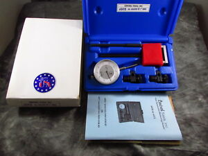 Central Tools Inc Range Dial Indicator Set 1 00 0 100mm Range 6410 Nos