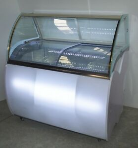 Popsicle Display Cabinet Commercial Ice Sucker Freezer Case Display Cabinet New