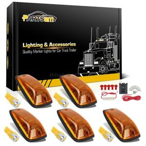 Set 5 161 6 5730 smd Amber Led Bulb Cab Clearance 11516638 Amber Light For Chevy