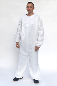 Tyvek Ty125 Alternative Full Case 25 Garments White Microporous Coveralls Sm 5x