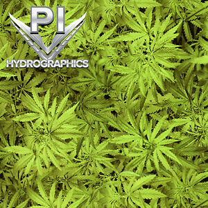 Hydrographic Film Hydro Dipping Water Transfer Printing Film Weed Leaf Rl432