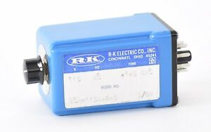 Rk Electric Eca 115a 2 5 Timer Delay Switch 115ac 1 5 Seconds K1