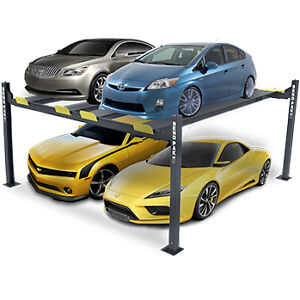 Bendpak Hd 9sw 9 000 lb Capacity Double 4 Post Super Wide Car Lift