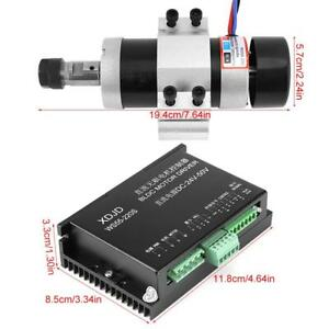 Er16 Dc48v 500w High Speed Air Cooling Brushless Spindle Motor Driver Clamp H5