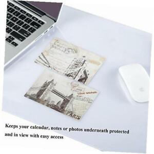 Clear Pvc Desk Pad Protector 19 X 24 Inches For Work Space Writing