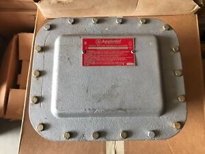 One 1 Appleton Hazardous Location Explosion Proof Outlet Box