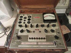 Stark Dynamic Mutual Conductance Tube Tester Model 9 66