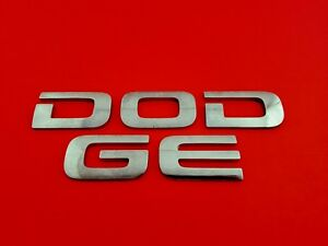 2002 Dodge Ram Rear Lid Chrome Emblem Logo Badge Sign Oem 02 03 04 05 06 07 08