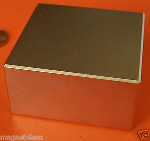 4 Rare Earth 2 X 2 X 1 Grade N42 Neodymium Block Magnets