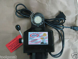 Servo M 250 150 Power Feed For Bridgeport Y 12 Cross Travel W mount Kit