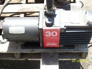 Edwards 30 Two Stage High Vacuum Pump E2m 30