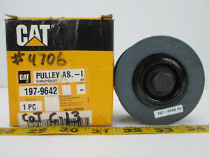 Cat Caterpillar 3 Idler Pulley Part 197 9642 New Old Stock Replacement Spare T