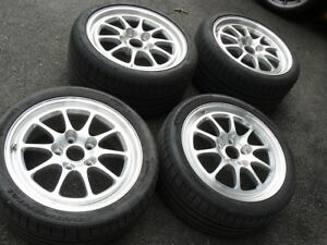 18 Porsche Fikse Mach V Wheels With Continental Tires 911 986 996 993