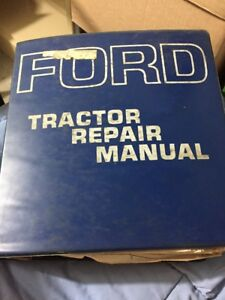 Ford Tractor 2000 3000 4000 5000 Service Repair Manual Se9205 7000 Supplement