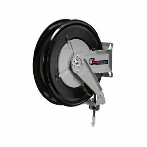 Wolflube 253802 Automatic Hose Reel For Oil 1 2in 50 Ft Hose