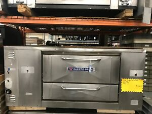 Bakers Pride Pizza Oven 125 000 Btu Working Condition Model D 125
