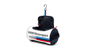 Genuine Bmw Motorsport Personal Care Toiletry Wash Bag