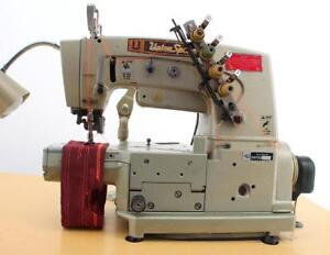 Union Special 34700 Kc 2 needle 3 16 Coverstitch Industrial Sewing Machine 220v