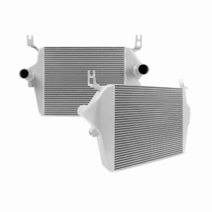 New Mishimoto Powerstroke Intercooler For 2003 2007 Ford Trucks 6 0l silver