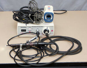 Welch Allyn 300s Light Source W 20580 Otoscope Amd 2500 Camera r3
