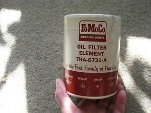 Ford Early Fomoco Oil Filter Element Flathead 7ha 6731 A Vintage