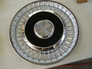 Nos Oem Ford 1958 Lincoln Premiere Wheel Cover Hub Cap 15